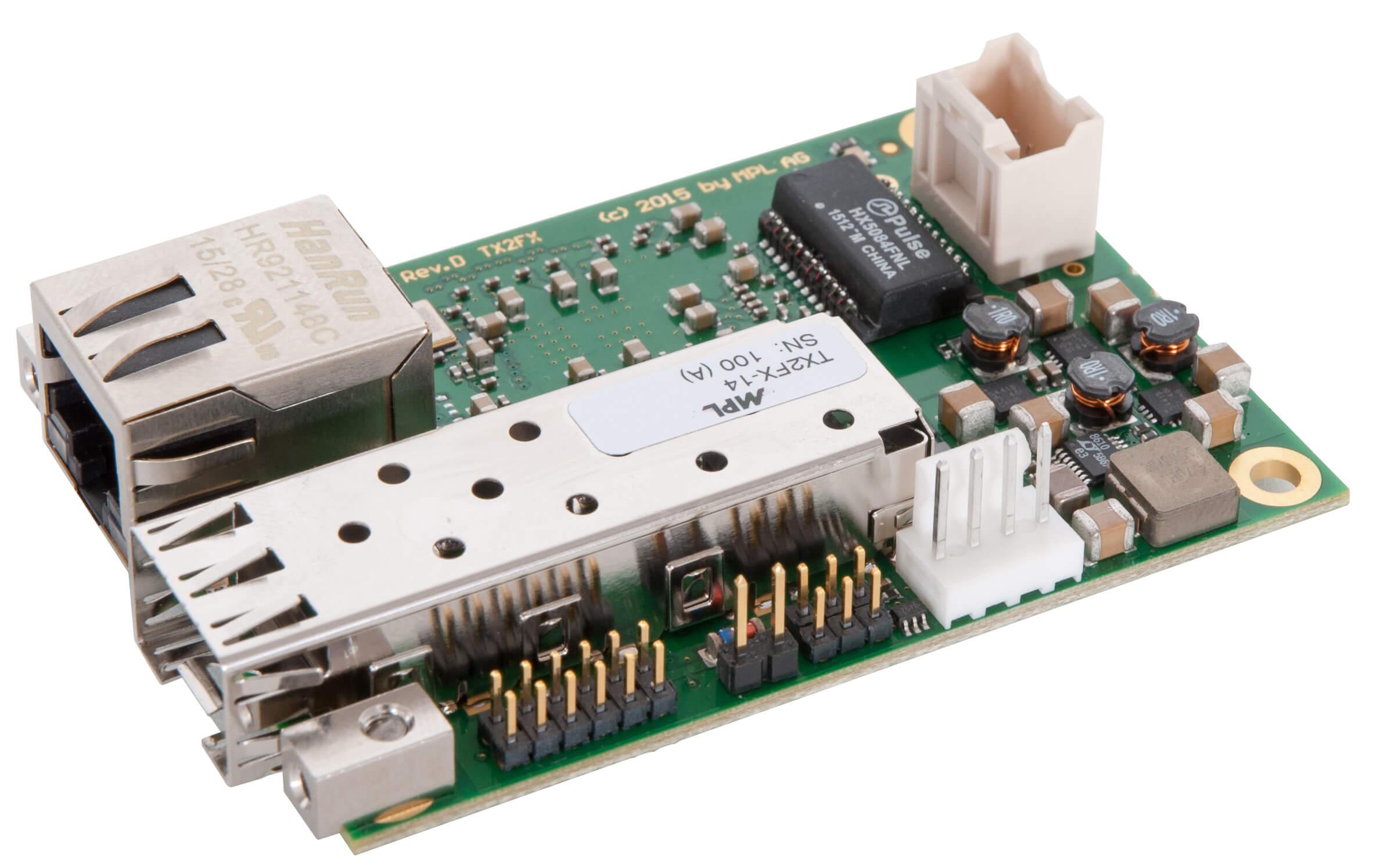 Open Frame Media Converter TX2FX-14