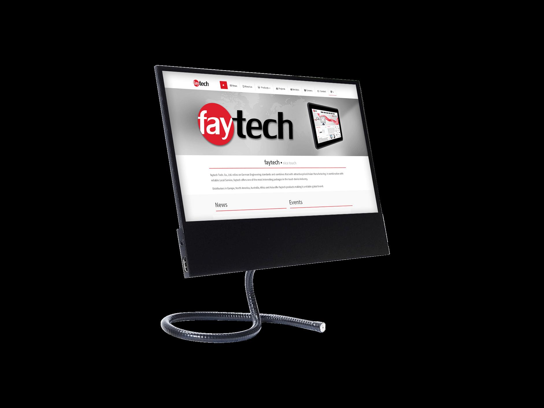 """12.5"""" Flat Zusatz-Touch-Monitor für unterwegs"""