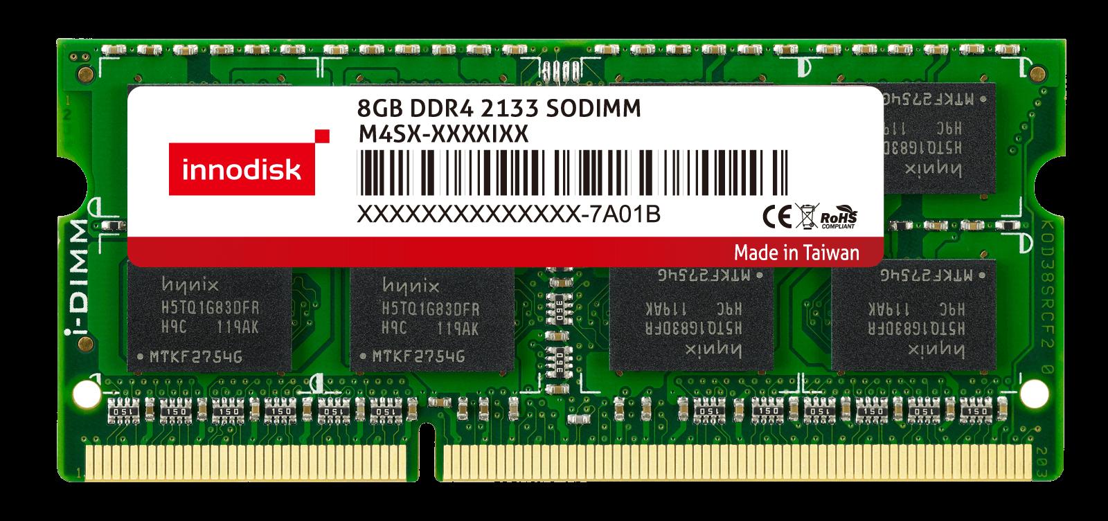 8GB DDR4 2133 MT/s SO-DIMM