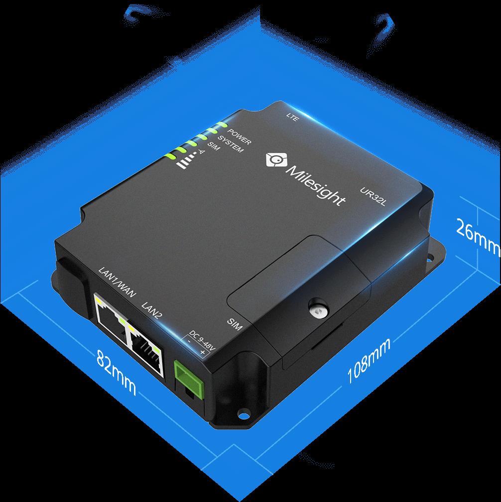 Milesight IoT UR32L 4G Router