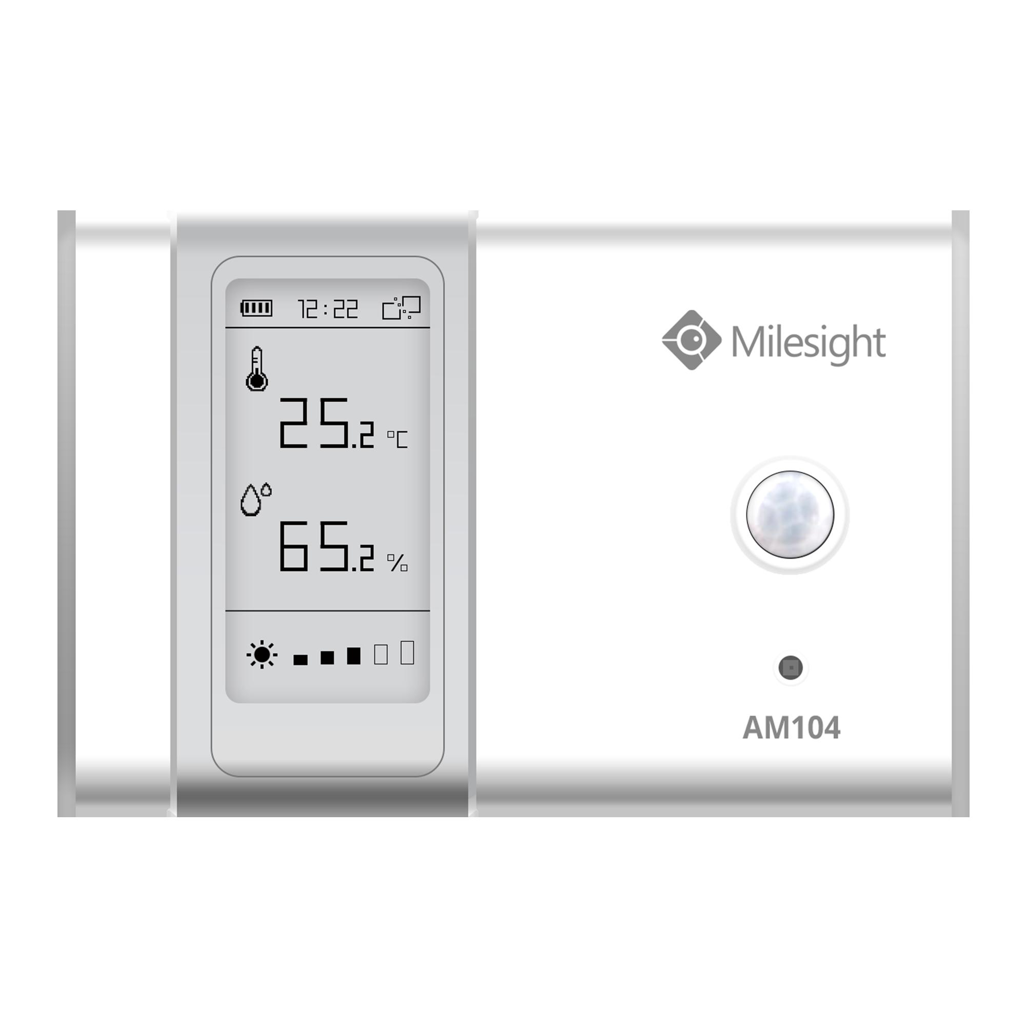 Milesight IoT AM 104 E-Ink Indoor Sensor LoRaWAN