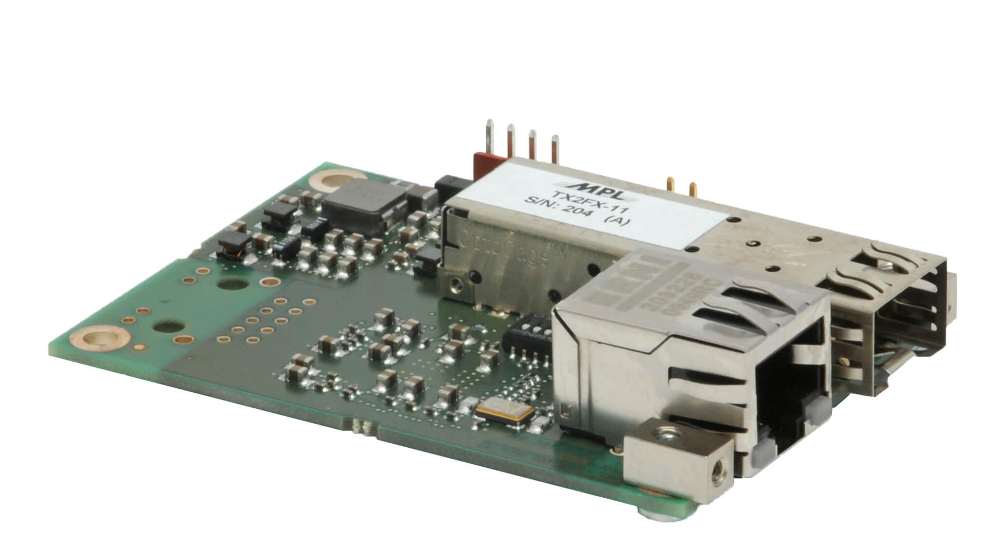 Open Frame Media Converter TX2FX-11