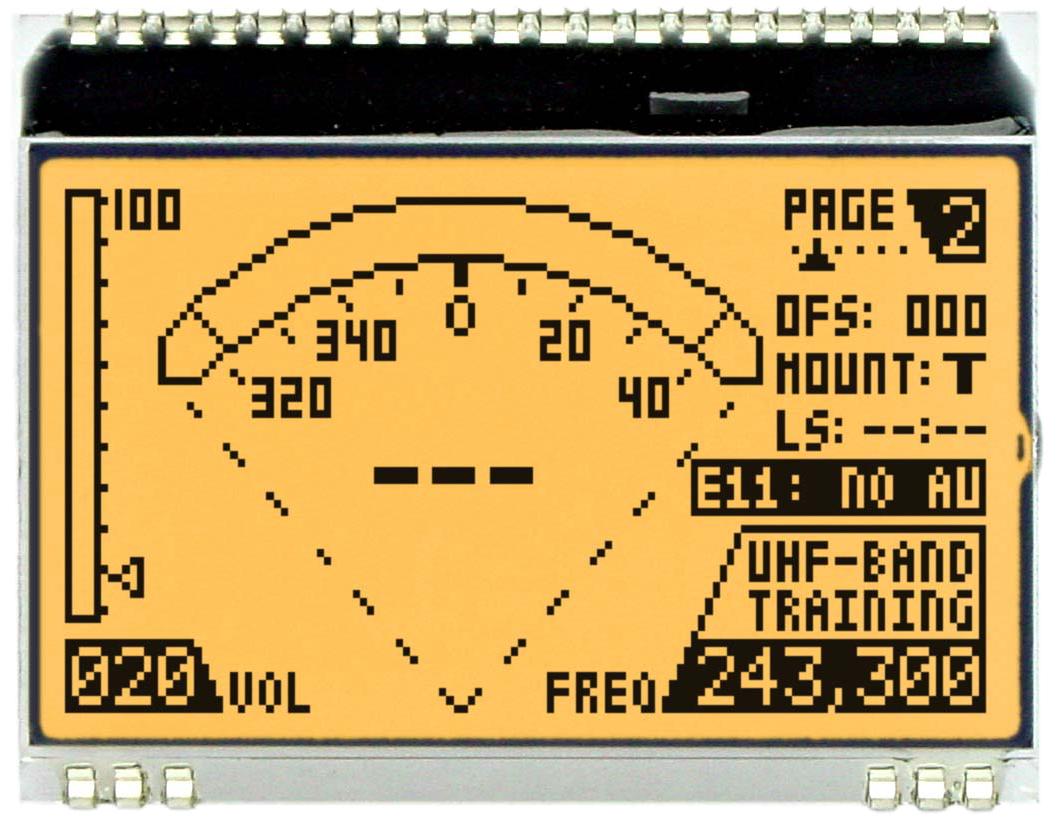 128x64 DOG Grafikdisplay, FSTN weiss