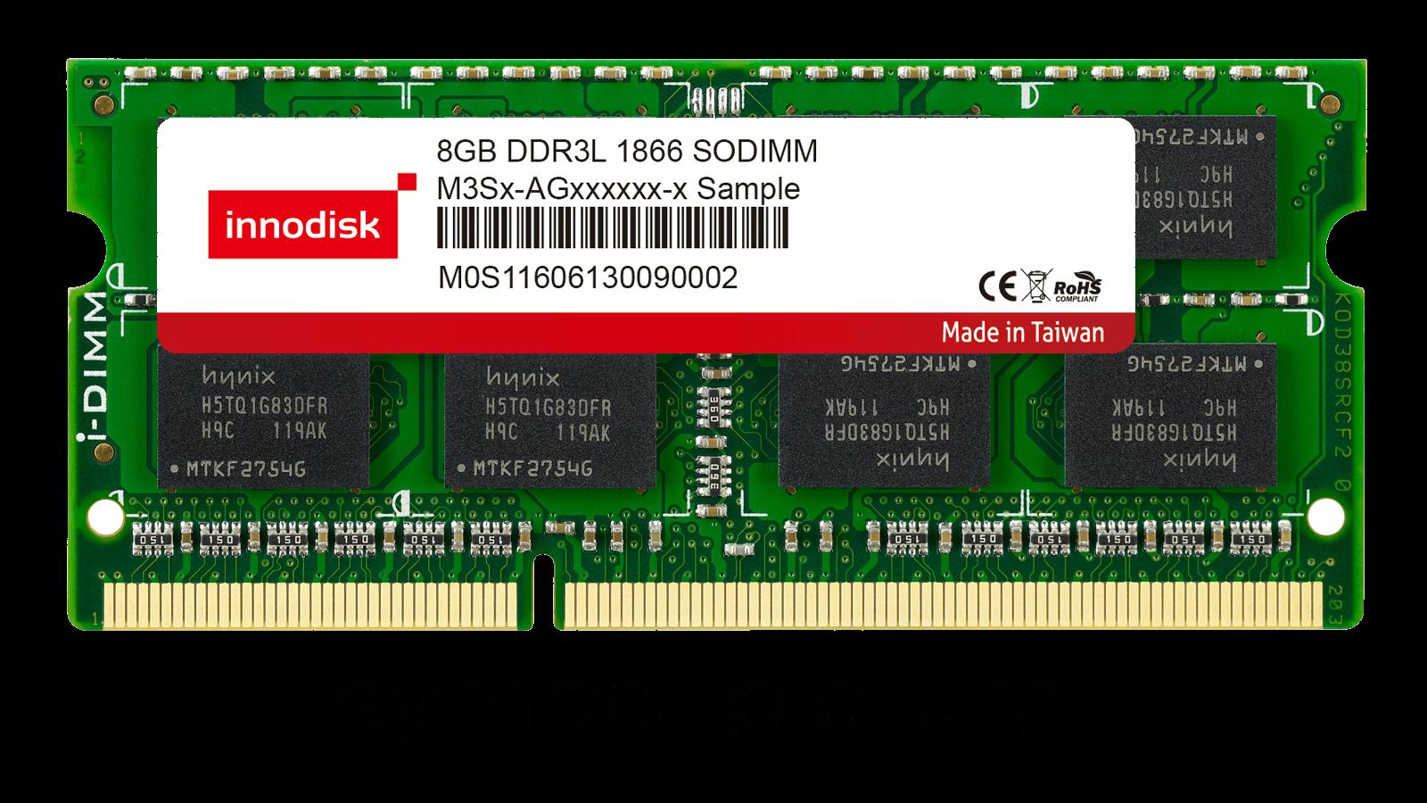 2GB DDR3L 1866 MT/s SO-DIMM