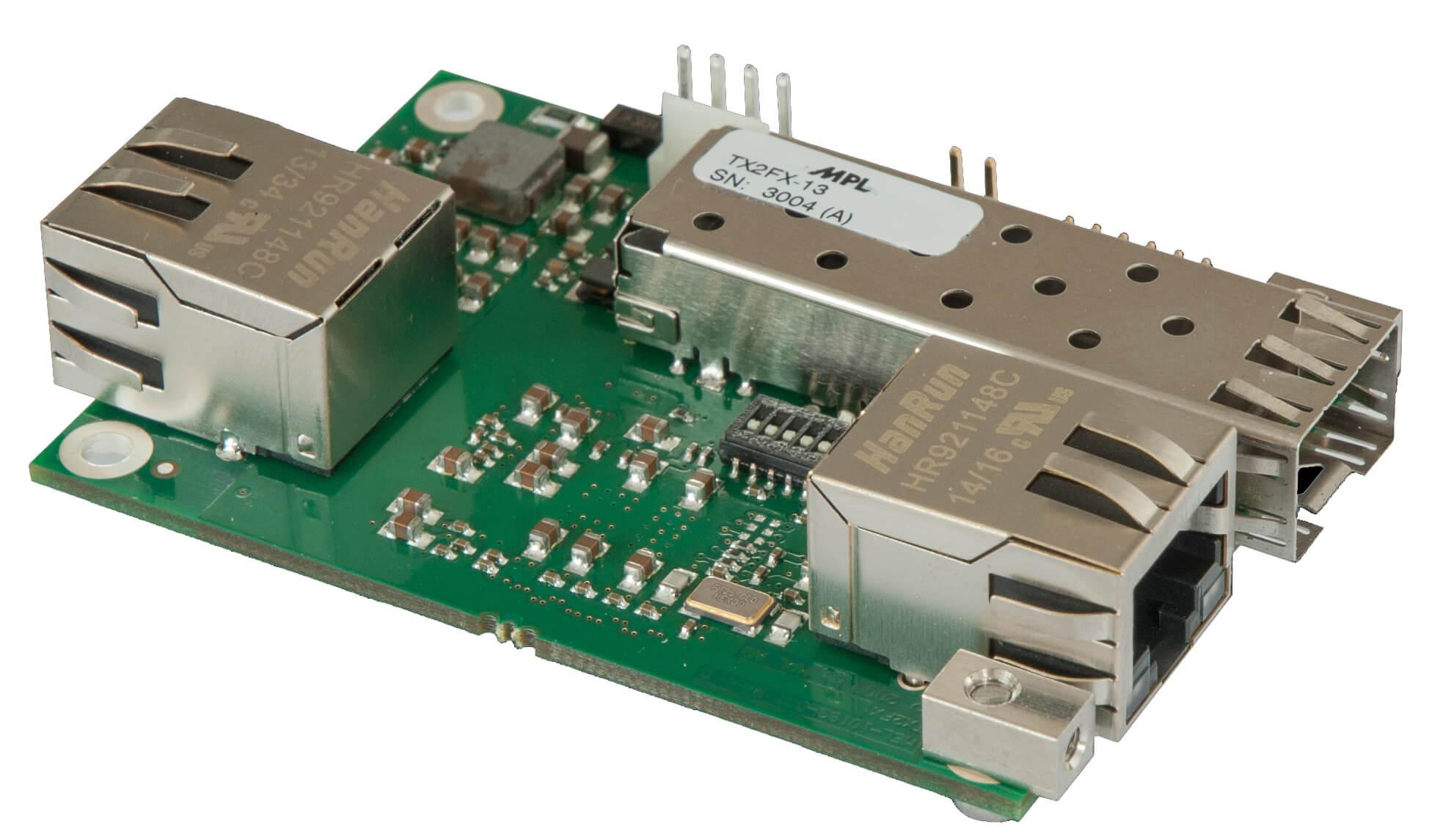 Open Frame Media Converter TX2FX-13