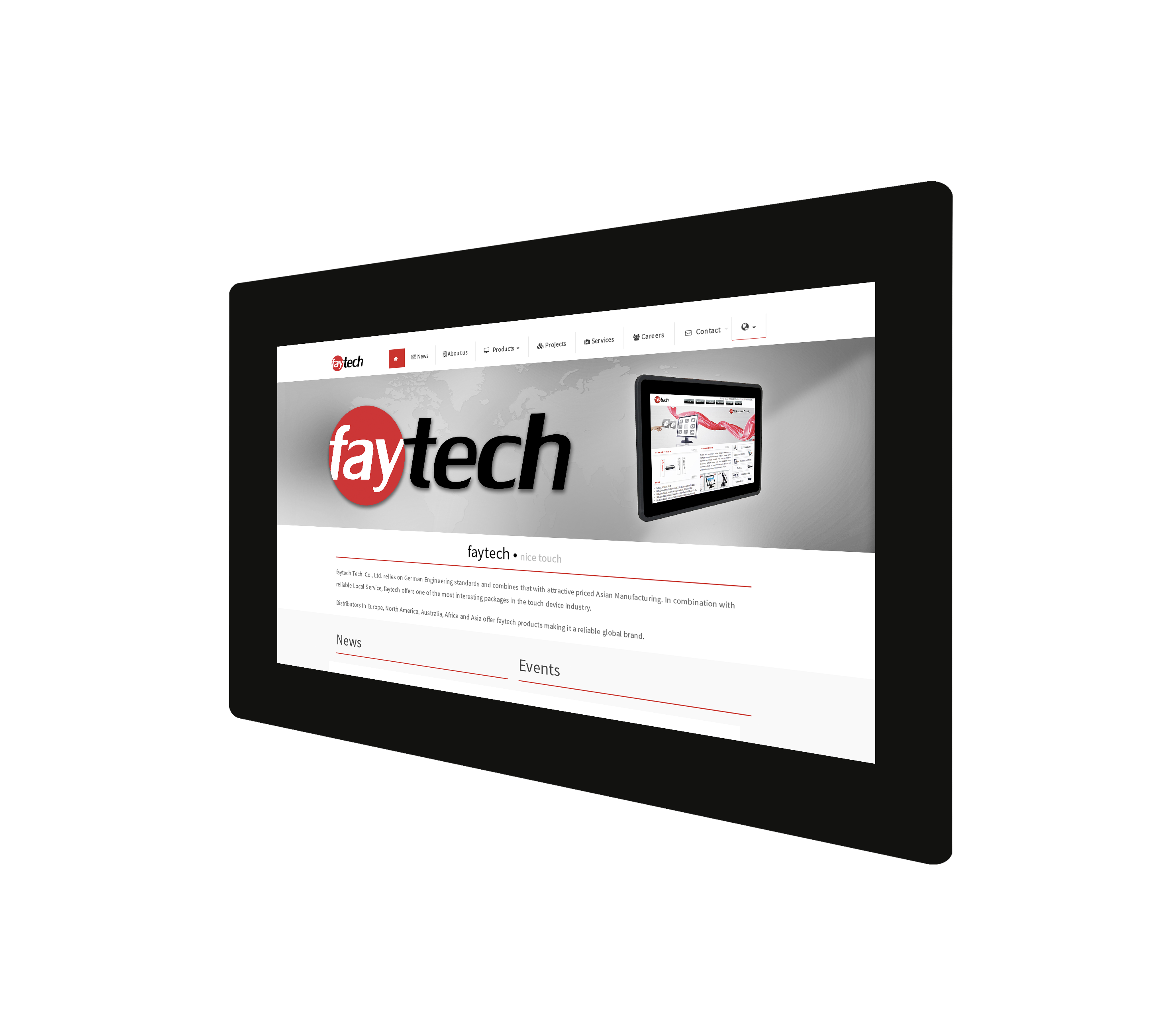 """11.6"""" open Frame pcap Touch Monitor HighBright"""