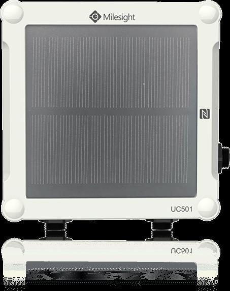 Milesight IoT UC501 IP67 LoRaWAN Controller / IO Solar