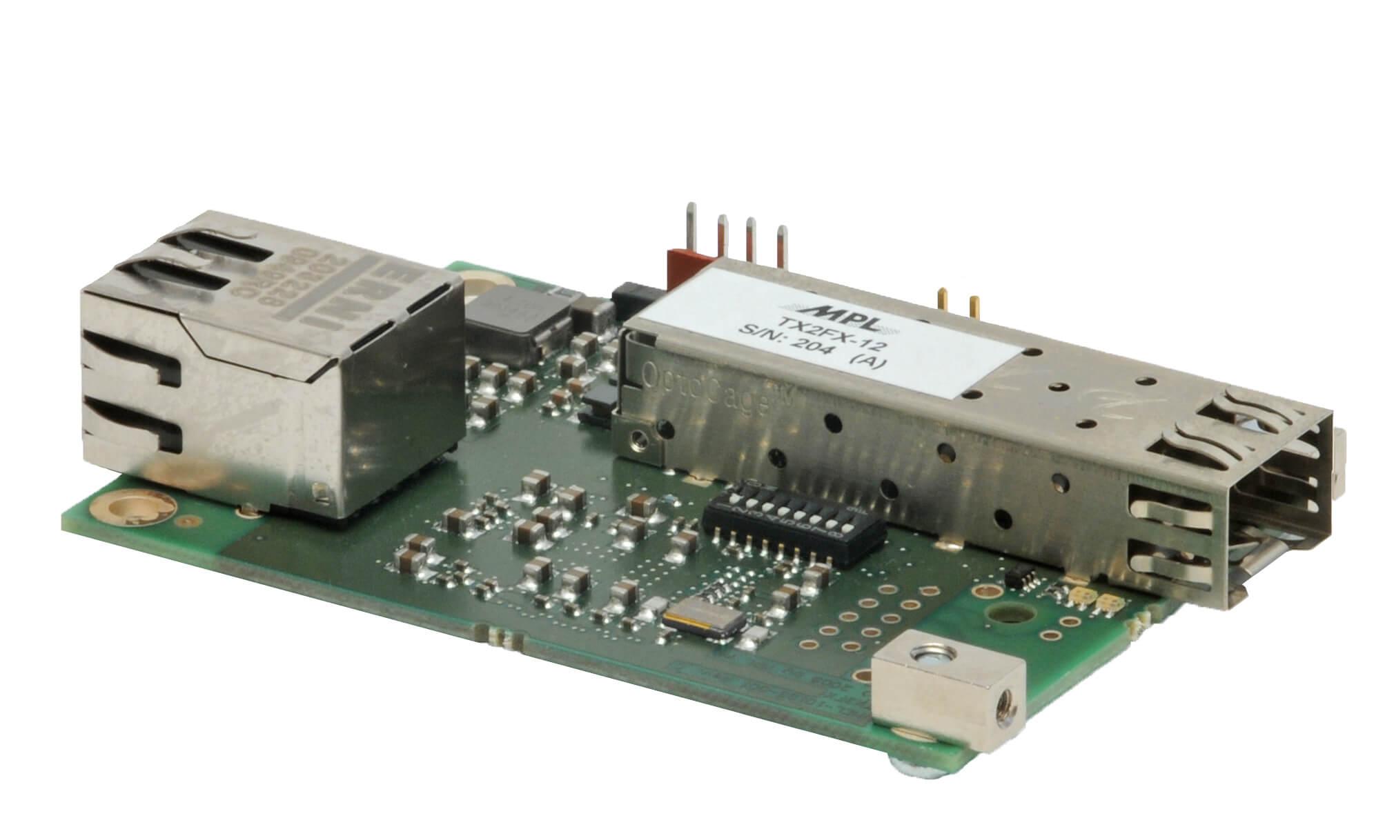 Open Frame Media Converter TX2FX-12